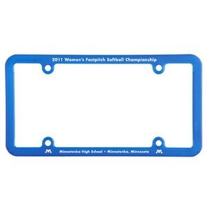 License Plate Frame w/ 4 Holes & Universal