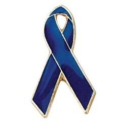 Stock Child Abuse Awareness Ribbon Pride Pins