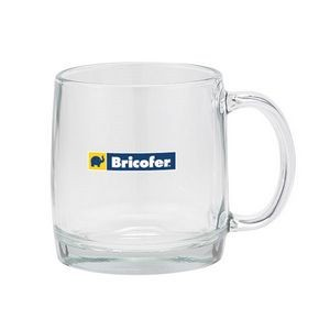 13 Oz. Nordic Clear Glass Coffee Mug