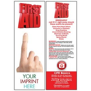 First Aid Bookmark
