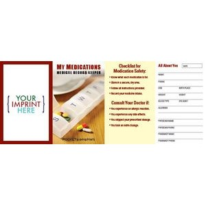My Medications - Medical Record Keeper Pocket Pamphlet
