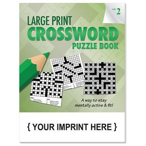 LARGE PRINT Crossword Puzzle Book - Volume 2