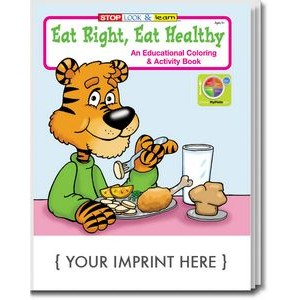 Eat Right, Eat Healthy Coloring Book