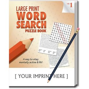 LARGE PRINT Word Search Puzzle Pack Set - Volume 1