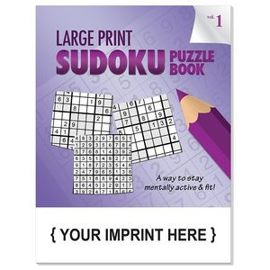 LARGE PRINT Sudoku Puzzle Book - Volume 1