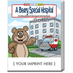 A Beary Special Hospital Coloring and Activity Book