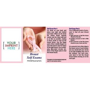 Breast Self Exams Pocket Pamphlet