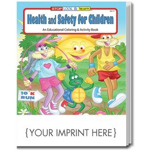 Health and Safety for Children Coloring & Activity Book