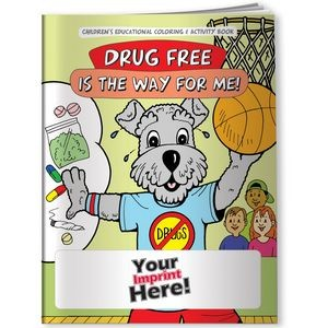 Coloring Book - Drug Free is the Way for Me!