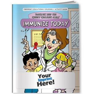 Coloring Book - Vaccines Keep the Creepy Crawlies Away: Immunize Today