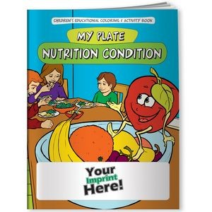 Coloring Book - My Plate: Nutrition Condition