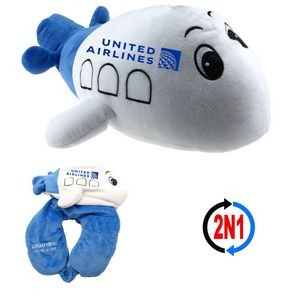Happy Plane 2N1, A Convertible Airplane and Neck Pillow