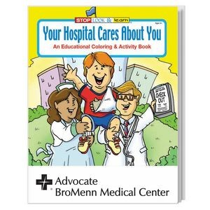 Your Hospital Cares About You Coloring Book