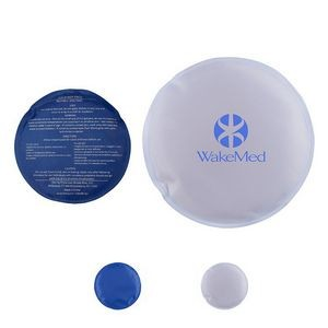 Round Nylon Covered Gel Hot/Cold Pack