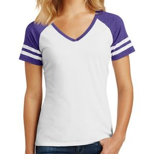 District® Ladies' Game V-Neck Tee