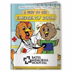 BIC Graphic® Coloring Book: A Visit to the Emergency Room