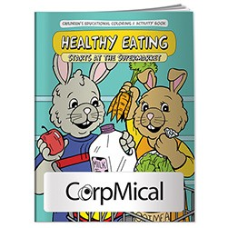 BIC Graphic® Coloring Book: Healthy Eating