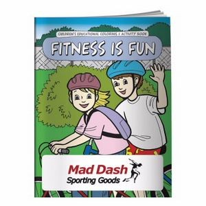 BIC Graphic® Coloring Book: Fitness Is Fun