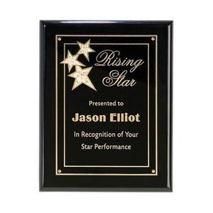 "Constellation Plaque - Black/Black 8""x10"""
