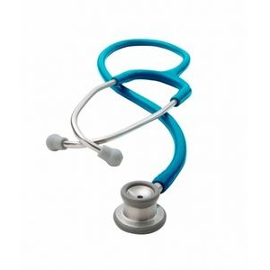 ADSCOPE® The 605 Series Infant Stethoscope (Metallic Caribbean Blue)