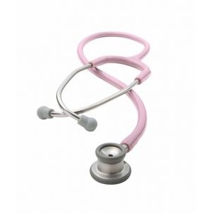 ADSCOPE® The 605 Series Infant Stethoscope (Pink)