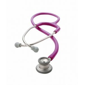 ADSCOPE® The 605 Series Infant Stethoscope (Metallic Raspberry Pink)
